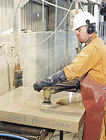 polishing-granite